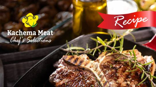 Kachema T-Bone with Thyme and Garlic Butter